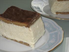 豆腐クリームを使ったケーキ