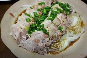 豚バラ肉の粒マスタードソース