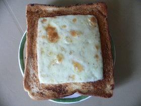 簡単☆洋風焼肉トースト♪♪