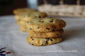 ごまごま*さつまいもクッキー