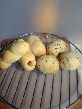 ナン生地でパン(ただ今改良中)