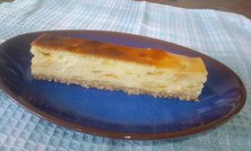 マーマレードとココナッツのチーズケーキ
