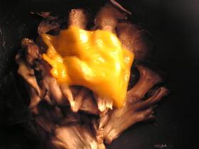 舞茸のチーズ焼き