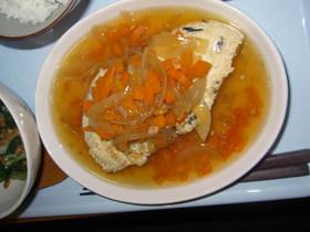 やわらか豆腐ハンバーグ(和風あんかけ)