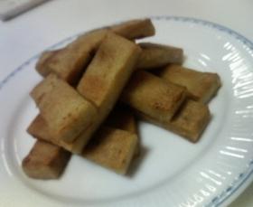 高野豆腐のなんちゃってチキン