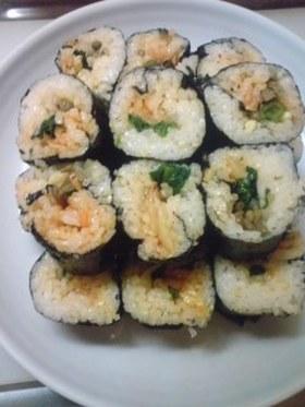 超簡単!韓国海苔巻(キンパ)