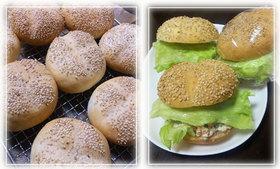 バーガー用のパン