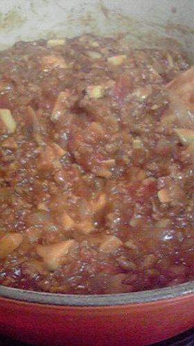 筍トマトキーマカレー