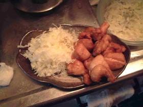 日清ベジフルーツオイルで鶏の唐揚げ