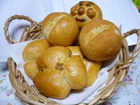 ラララ♪ライ麦まるパン