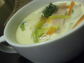 野菜たっぷり♡クリームスープ