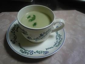 そらまめのクリームスープ