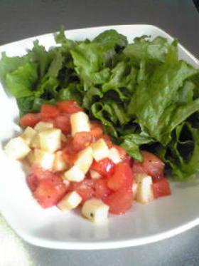 トマトと長芋のサラダ