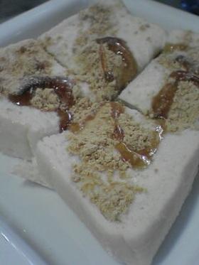 黒蜜きなこに☆ミルクひたひたパン