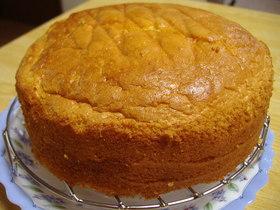 私のスポンジケーキ♥