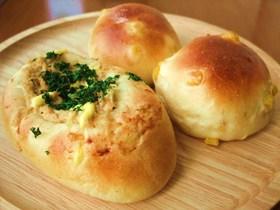 おかずパン2種★コーンパンとツナマヨパン
