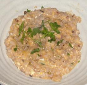 雑穀米&トマト風クラムチャウダーリゾット