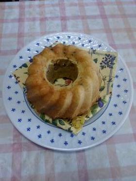 くるみキャロットケーキ(クグロフ型で)