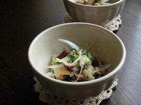 ほっこりお豆さんの和風サラダ