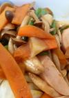隠し味はこれ!魚肉ソーセージで野菜炒め