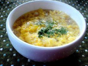 春キャベツのふんわり卵スープ