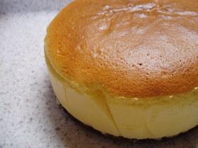 ♪しゅわしゅわ、私のスフレチーズケーキ♪