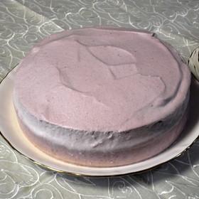 濃厚&ふんわり☆二層式いちごムースケーキ