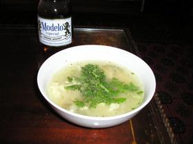 【メキシコ料理】トルティーアスープ