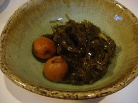 すき昆布の梅煮