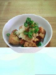 豆腐のから揚げの写真