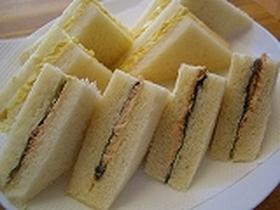 ツナ☆のりサンドイッチ
