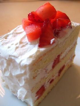 ♪ちっちゃなショートケーキ♪