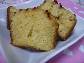 ☆りんごとレモンの簡単パウンドケーキ☆