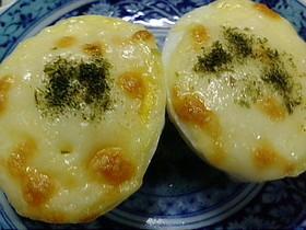 ゆで卵のマヨチーズ焼き