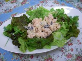 パスタソースと水煮豆で超簡単タラモサラダ