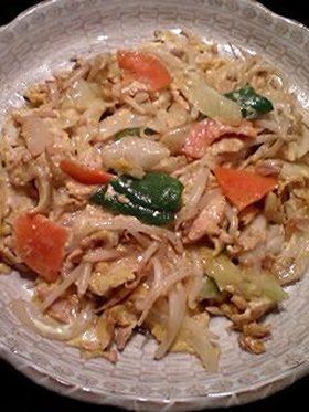 ■野菜とツナのマヨタマ炒め