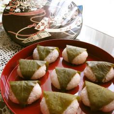 桜餅✿~炊飯器で簡単に