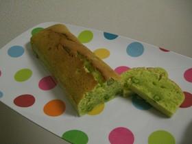 簡単☆グリンピース嫌い克服!!ケーキ