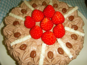 18㎝丸型(生チョコケーキ)