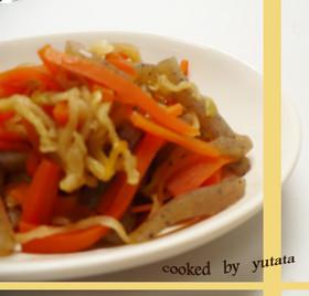 簡単和食・切り干し大根の煮物
