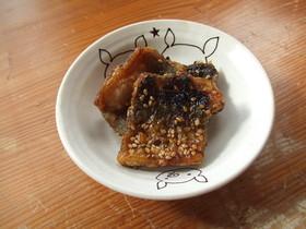 甘辛味のから揚げ秋刀魚