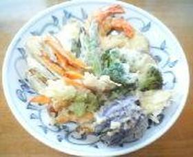 野菜たっぷり天ぷら