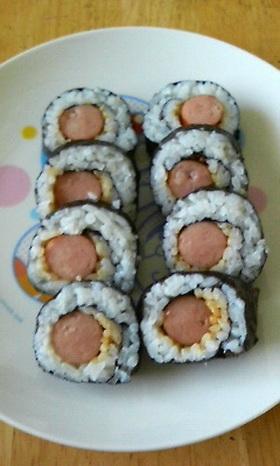 ウィンナー巻き寿司