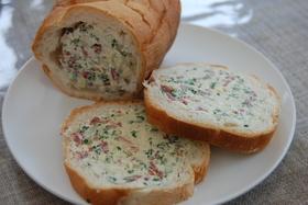 ☆クリームチーズinフランスパン☆