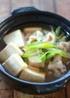 居酒屋風☆肉豆腐