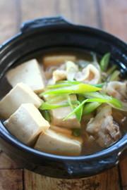 居酒屋風☆肉豆腐の写真