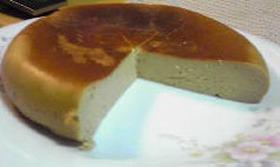 炊飯器豆腐チーズケーキ