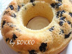 ホットケーキミックスで作るリングケーキ