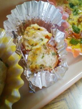 お弁当★プチトマトのチーズ焼き♪