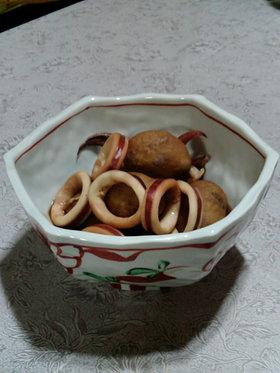 里芋とイカの煮付け(略式)
